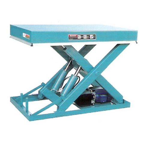 Plataformas Hidráulicas Tijera Simple 2000 Kg para Carga de Camiones y Nivelación de Muelles