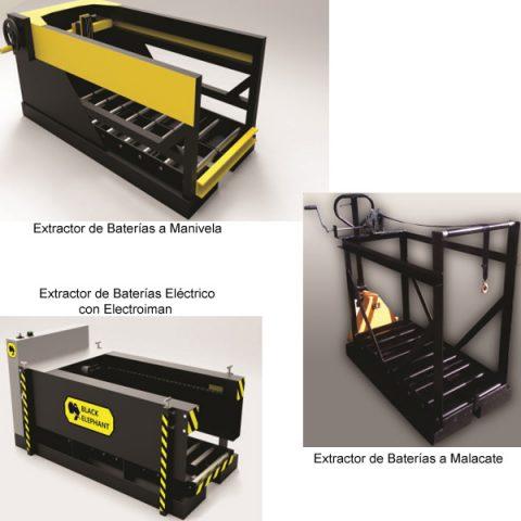 Extractores de baterias