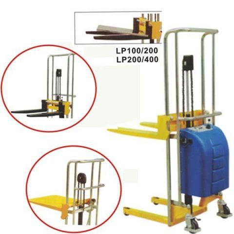 Apilador Liv. eléctrico c/uñas y/o plataf. ES/EF/EJ