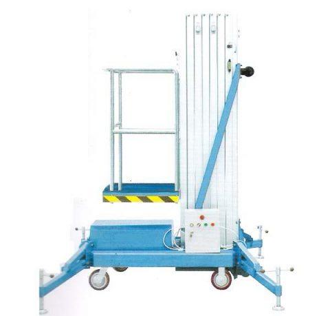 Plataformas de Elevación para Trabajo en Altura. Elevación eléctrica y Desplazamiento Manual.